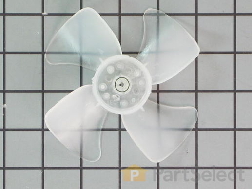 3650607-2-S-Whirlpool-W10445742-FAN BLADE AND CLIP ASSY