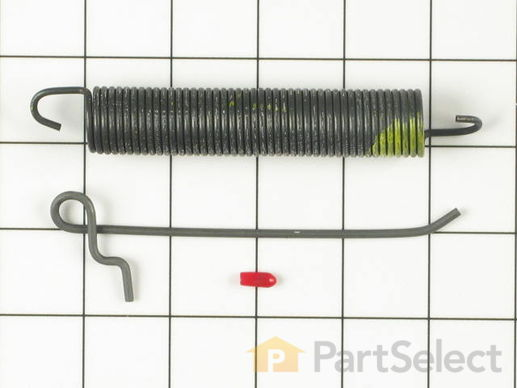 382634-1-S-Whirlpool-674744            -Door Spring With Adjusting Hook