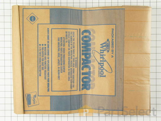 "382653-2-S-Whirlpool-675186            -15"" Paper Compactor Bags - 12 Pack"