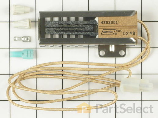 389156-1-S-Whirlpool-814269            -Flat Style Oven Igniter
