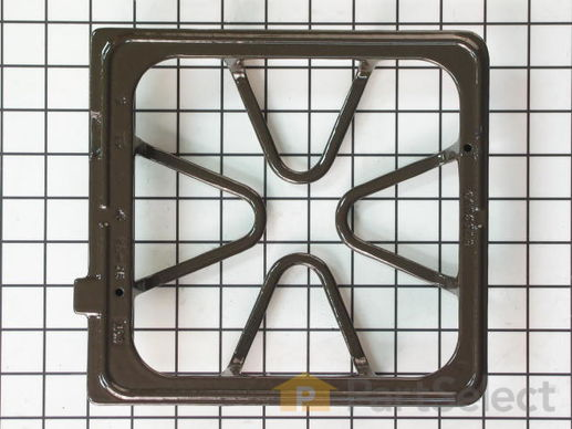 396742-2-S-Whirlpool-8522853           -Burner Grate - Brown