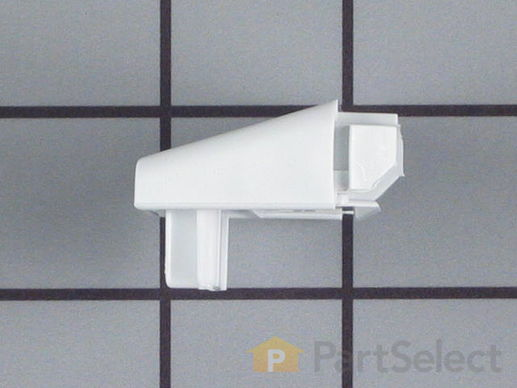 422925-3-S-Frigidaire-215473602         -Door Shelf End Cap  - Left or Right Side