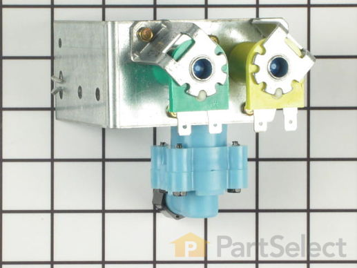 428394-3-S-Frigidaire-218658000         -Dual Water Inlet Valve
