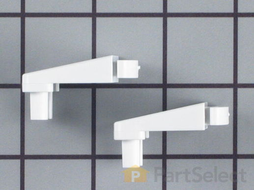 469917-3-S-Frigidaire-5303925377        -Door Shelf End Cap Set - Left and Right Side