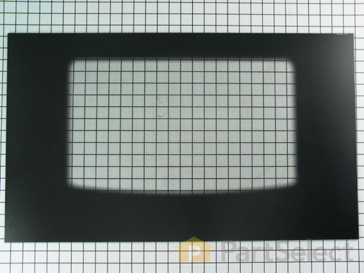 470233-2-S-Frigidaire-5303935200        -Exterior Oven Door Glass - Black