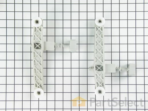 558074-2-S-Whirlpool-675798            -Upper Rack Adjuster Arm Kit - Right and Left Side