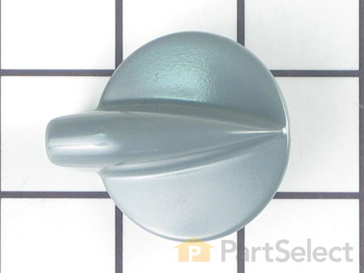 885408-1-S-Whirlpool-8182050           -Control Knob - Pewter