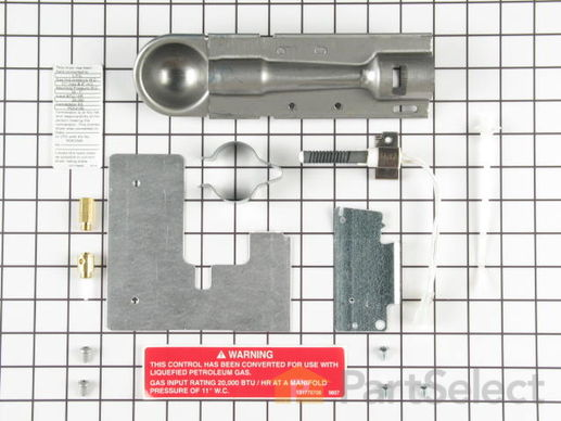 981372-1-S-Frigidaire-PCK3100           -Dryer Conversion Kit - Natural Gas to Liquid Propane