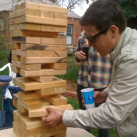 Diy lawn games for the labor day weekend partselect diy jenga game solutioingenieria Gallery
