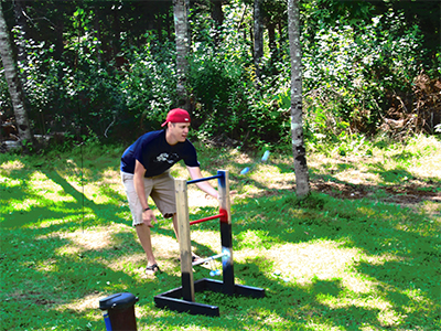 Diy lawn games for the labor day weekend partselect diy ladder golf solutioingenieria Gallery
